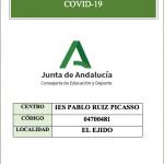 Protocolo Covid-19 Ies Pablo Ruiz Picasso