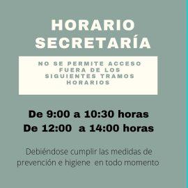 Horario de Secretaria Ies Pablo Ruiz Picasso