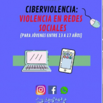 Charla virtual sobre Ciberviolencia